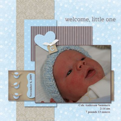 Welcome baby-002